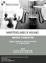 2013 - Masterclass Fiorentini