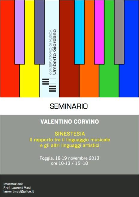 Valentino Corvino – Seminario
