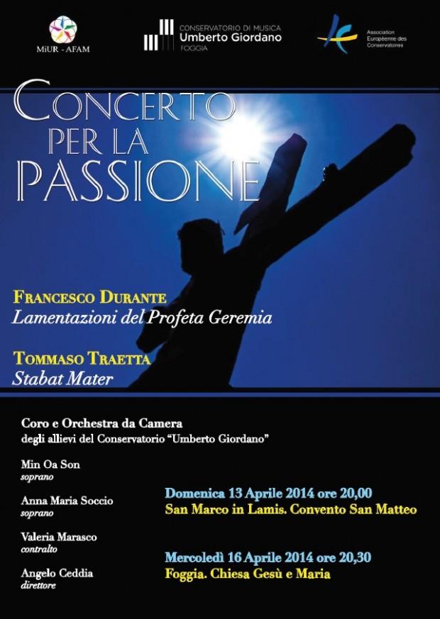 Concerto per la Passione