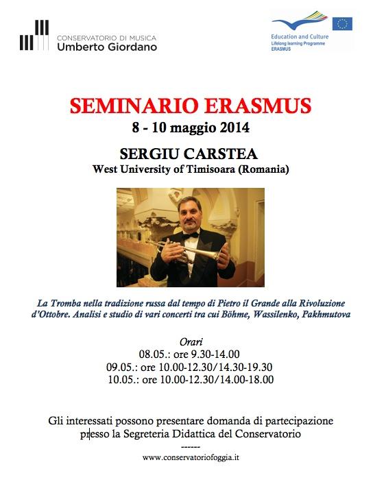 Seminario Erasmus