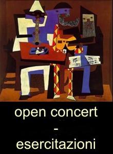 Open concert – esercitazioni