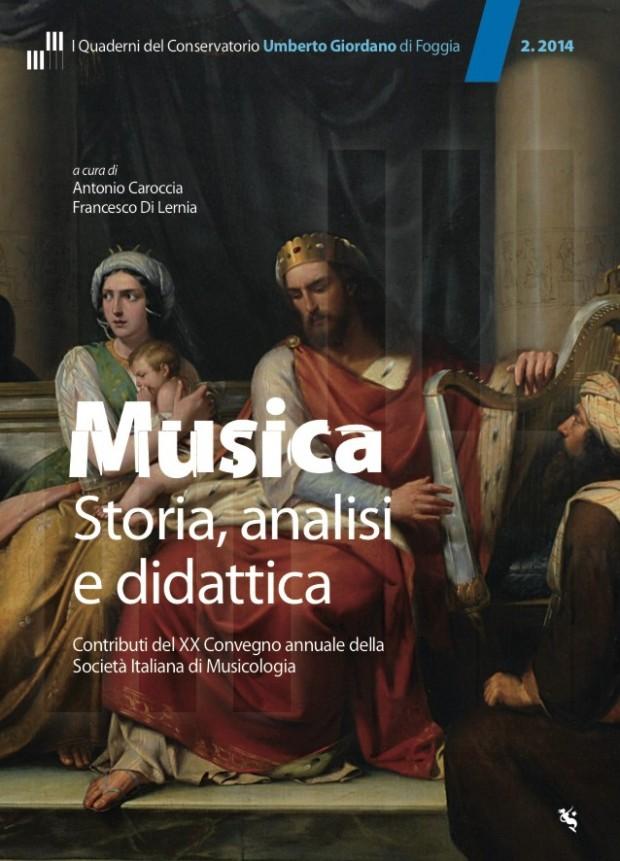 Il secondo volume dei Quaderni del Conservatorio Umberto Giordano