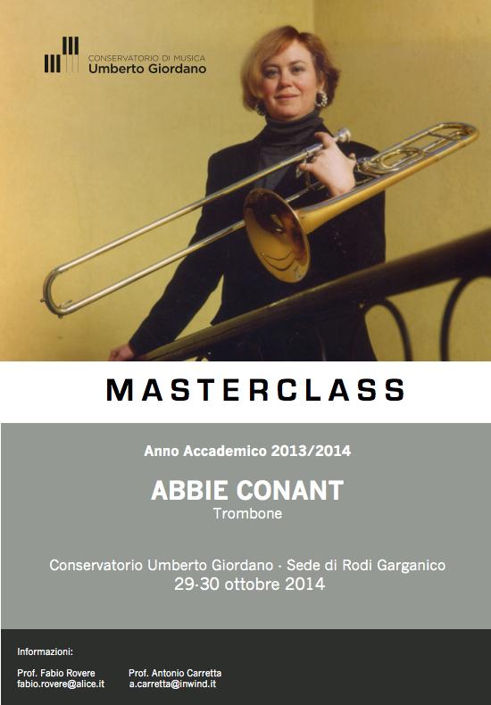 Masterclass di Trombone
