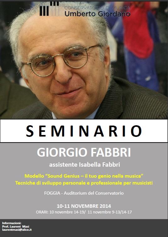 Master di Giorgio Fabbri