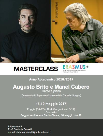 Masterclass Erasmus +