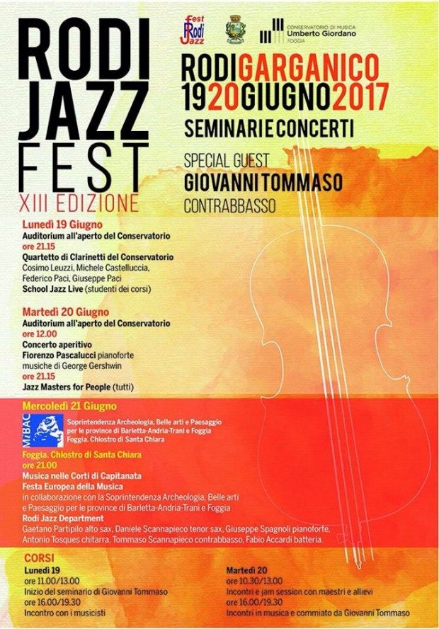 Rodi Jazz Fest – XIII edizione