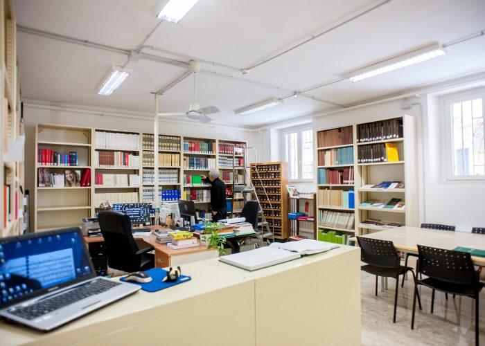 Biblioteca-storia