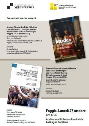 presentazione volumi 2014